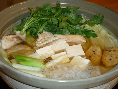 Nabe_in the pot
