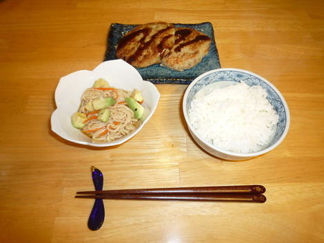 Shirataki salad_meal