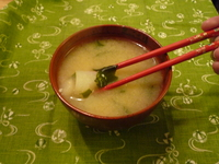 Miso soup-wakame potato3