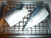 Saba no shioyaki-in the toaster oven