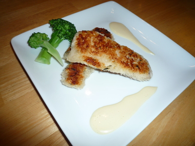Chicken katsu twist-serve it up