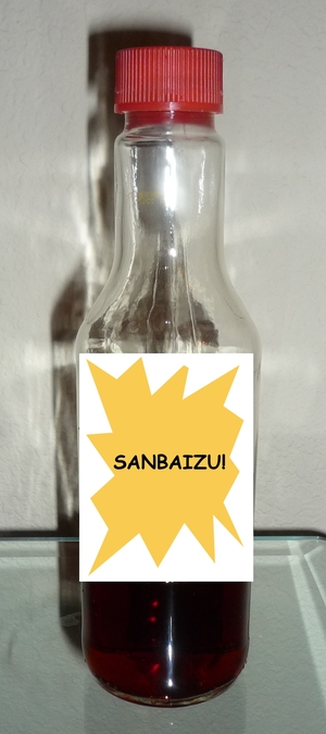 Sanbaizu-in the bottle