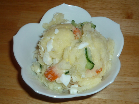 Potato salad-served