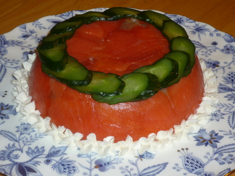 Sushi cake_decorated