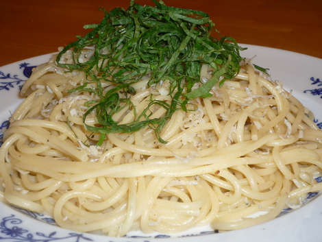 wafu pasta2-served