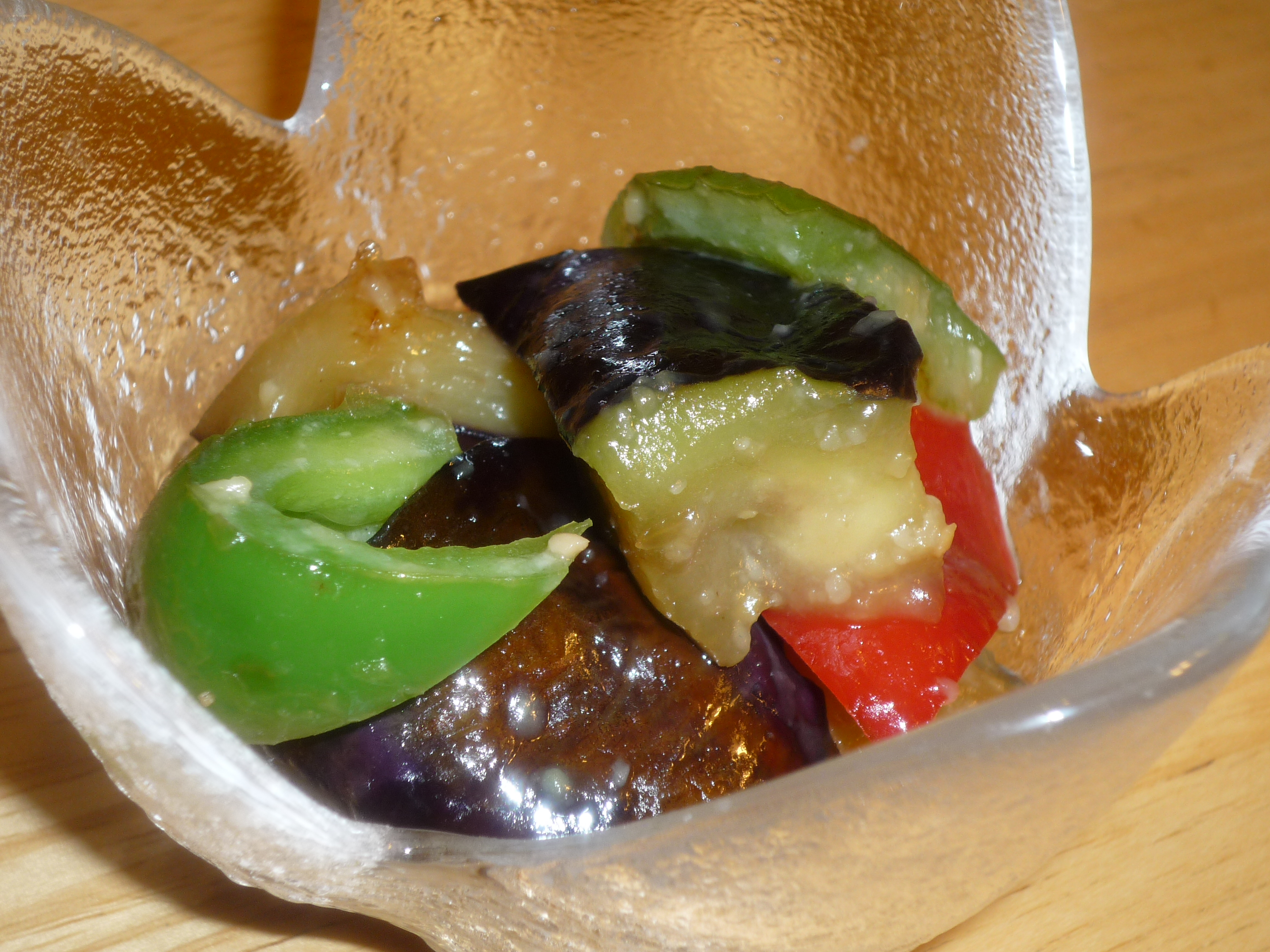 Eggplant and Bell Pepper Miso Stir Fry - Japanese Build a Meal Food ...