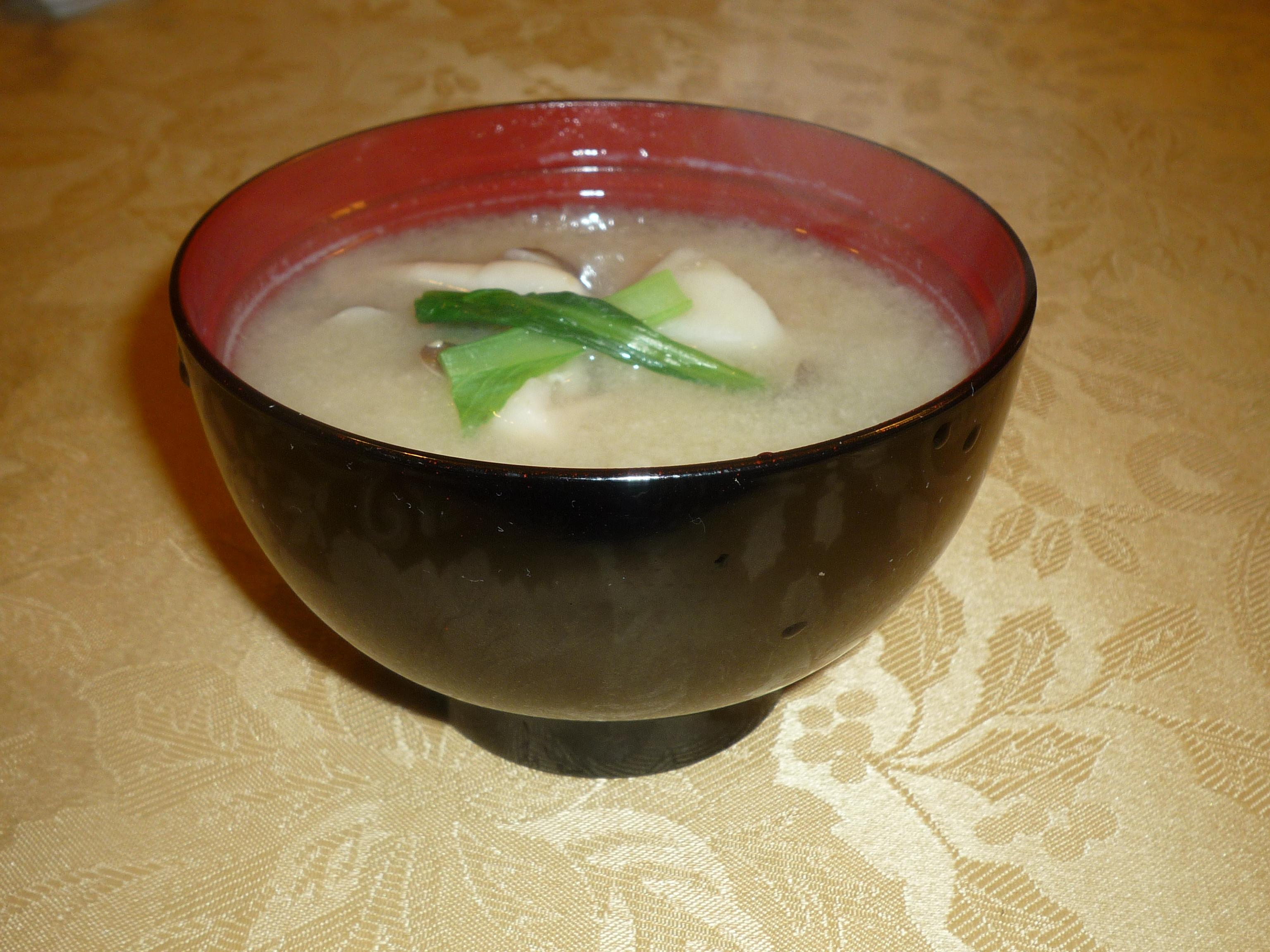 Satoimo (Taro Root) and Shimeji Miso Soup - Japanese Build a Meal Food ...